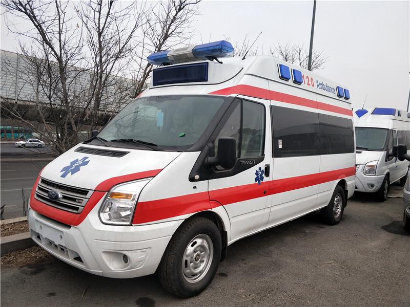 福特新全顺长轴监护型救护车