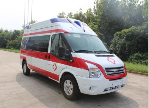 福特新世代V348长轴监护型救护车