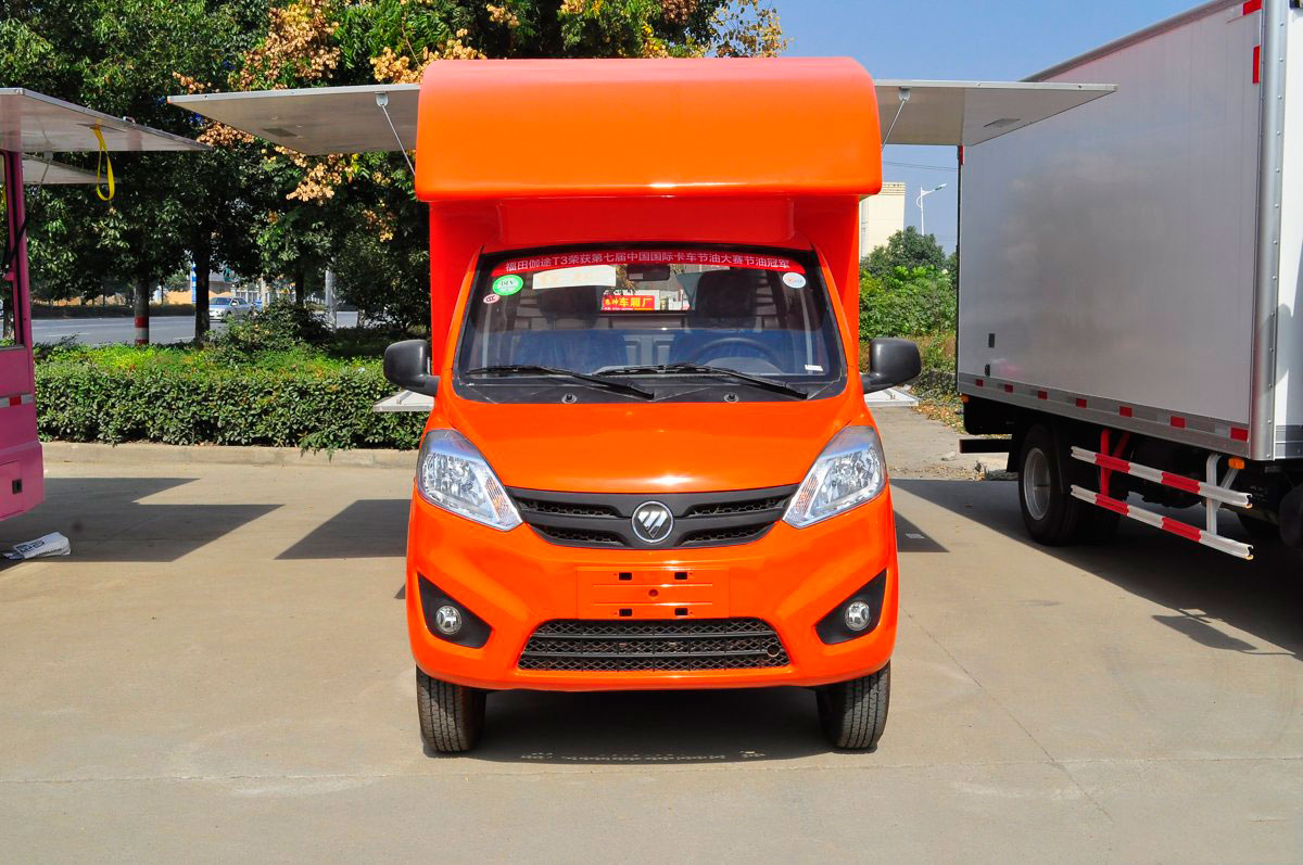 福田伽途T3国五流动售货车