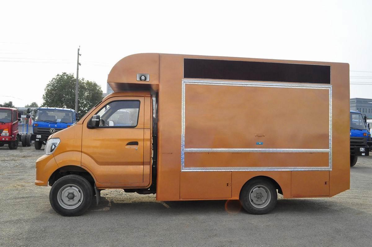 重汽国五流动售货车