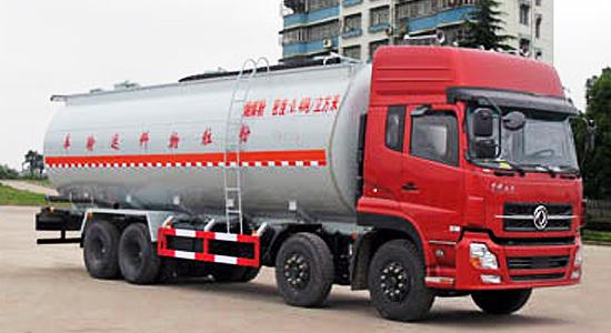 斯太尔前四后八34.5吨粉粒物料运输车