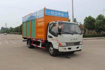 江淮潍柴130马力污水处理车图片
