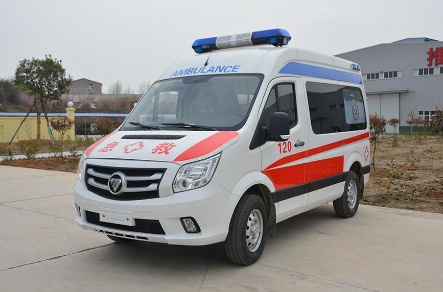 福田图雅诺救护车(长轴)图片