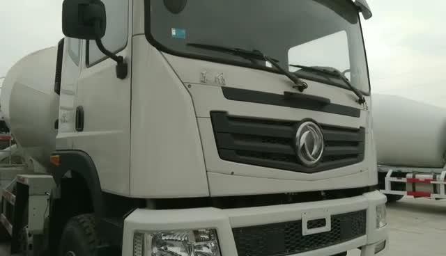 东风天锦搅拌车