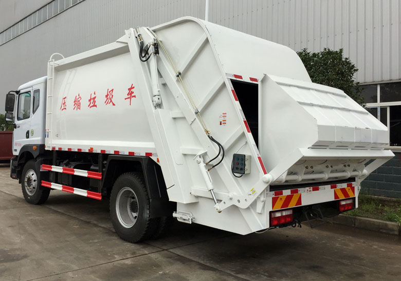 10-12方壓縮垃圾車(東風D9)_高清圖片