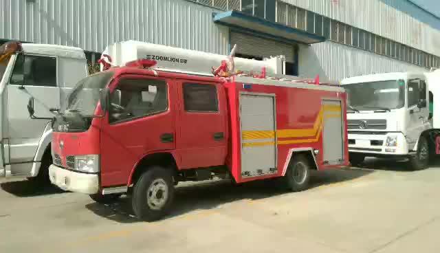 東風福瑞卡消防灑水車