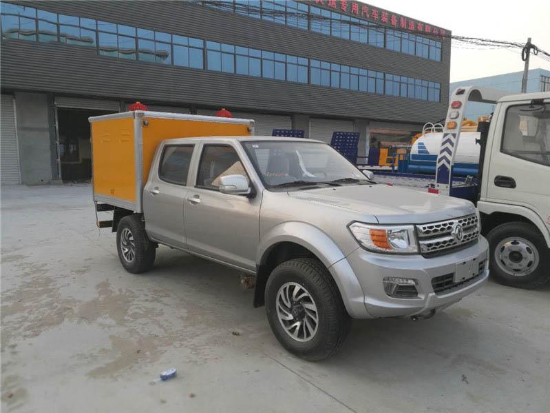 东风日产皮卡1.44米爆破器材运输车图片