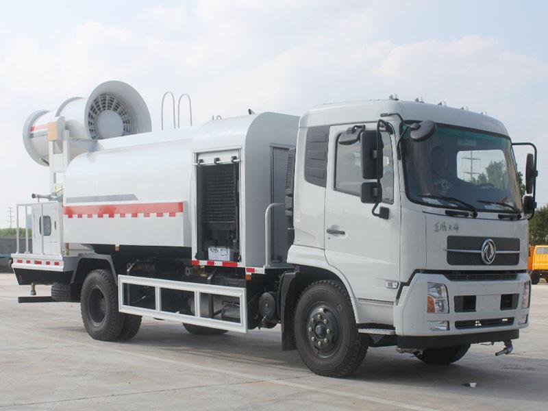 东风天锦8吨(圆罐)多功能抑尘车