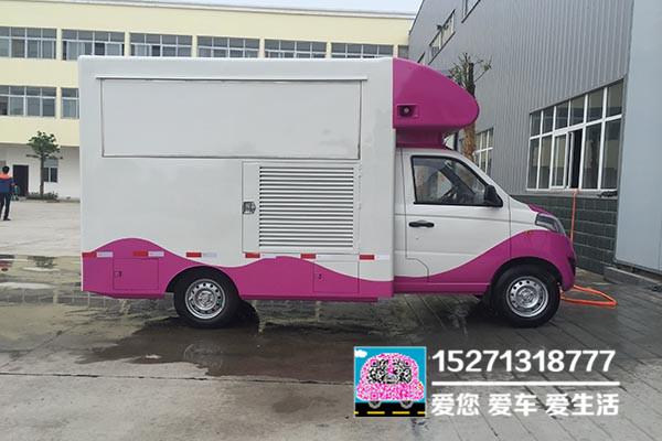 長安國五汽油售貨車圖片