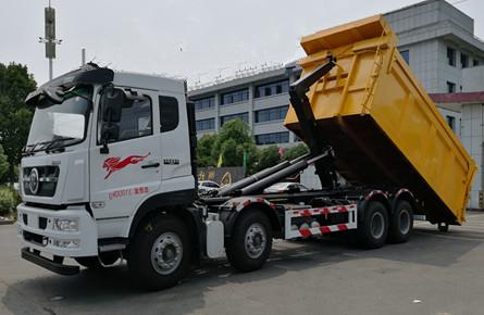 重汽30吨勾臂垃圾车图片