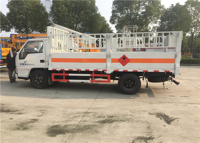 江铃4.2米仓栏气瓶运输车(蓝牌)图片