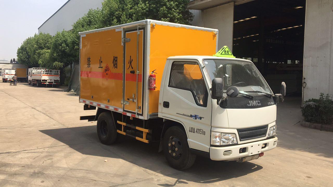 江铃3.16米气瓶运输车