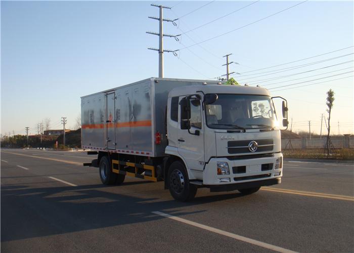 天锦6.2米易燃液体厢式车