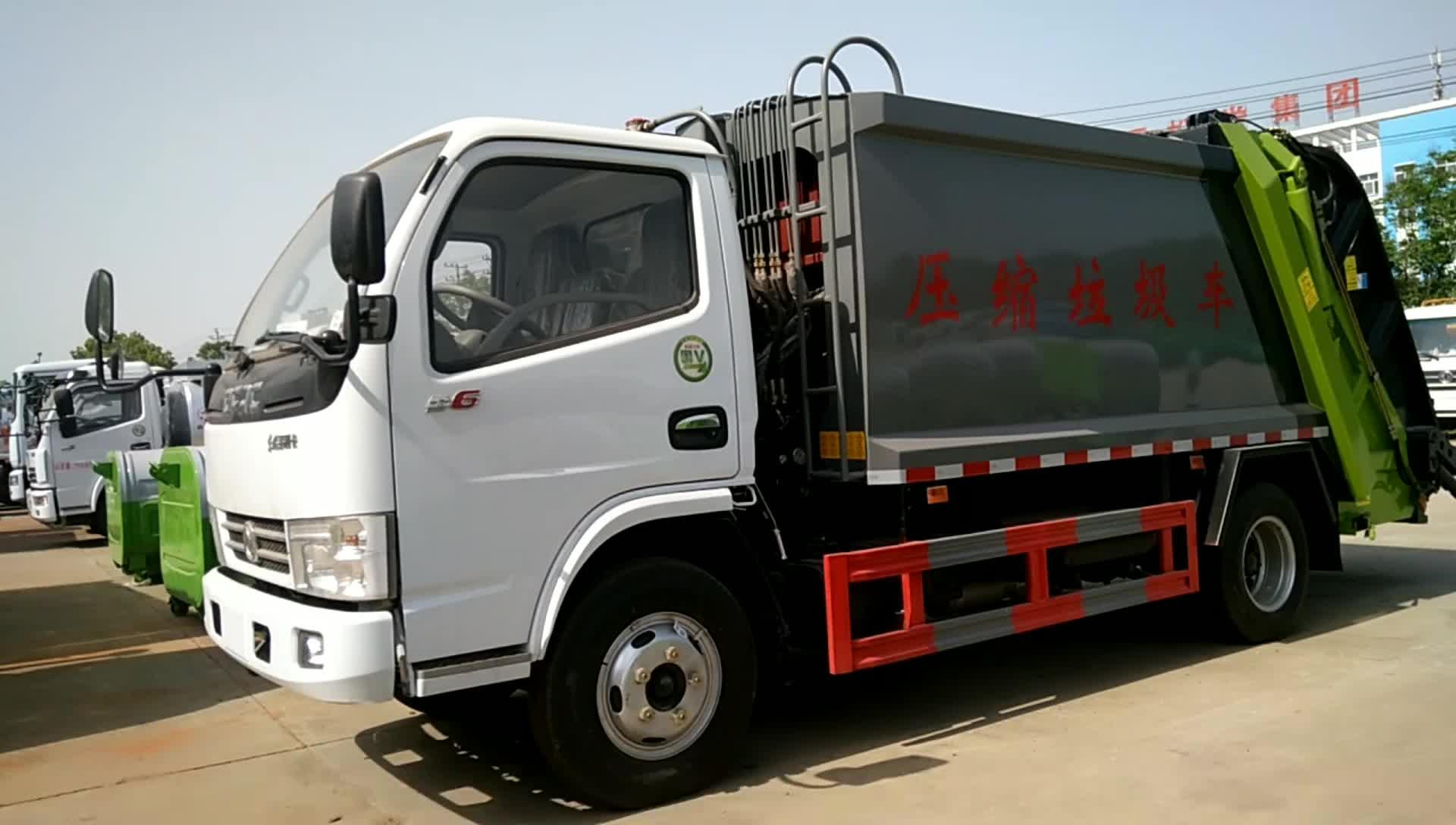 东风多利卡D6压缩垃圾车