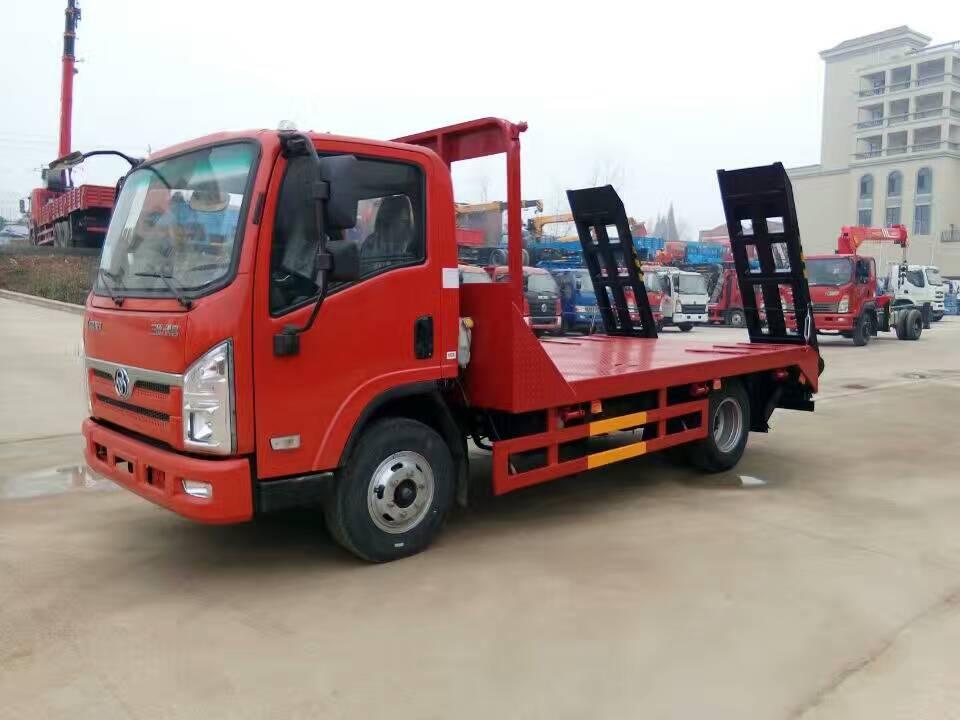 三环创客12吨挖机平板运输车