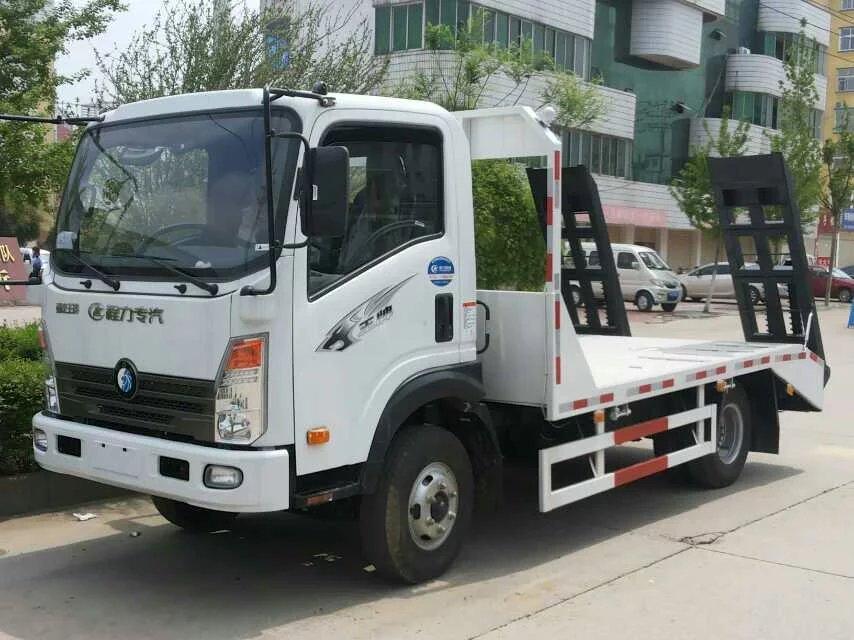 重汽王牌10吨挖机平板运输车