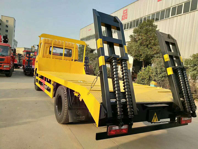 东风专底15吨平板运输车图片