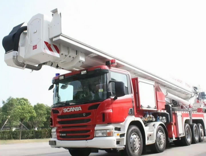 格拉曼消防车视频