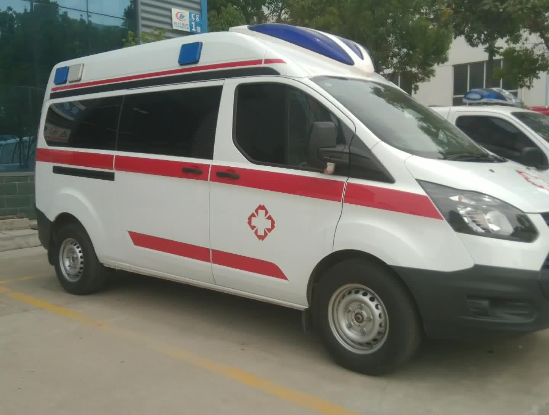 江铃福特救护车视频
