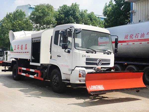 东风天锦10吨多功能100米雾炮车