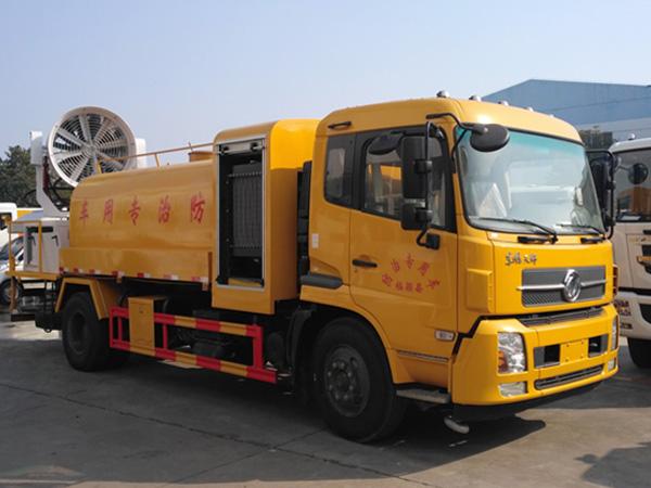 东风天锦10吨多功能80米雾炮车