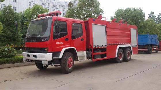 五十铃16吨水罐消防车