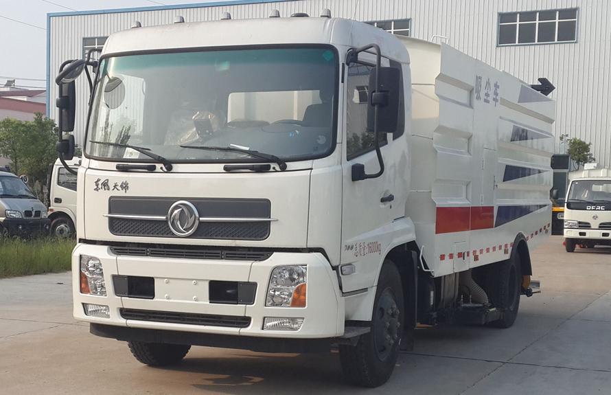 东风天锦16吨吸尘车