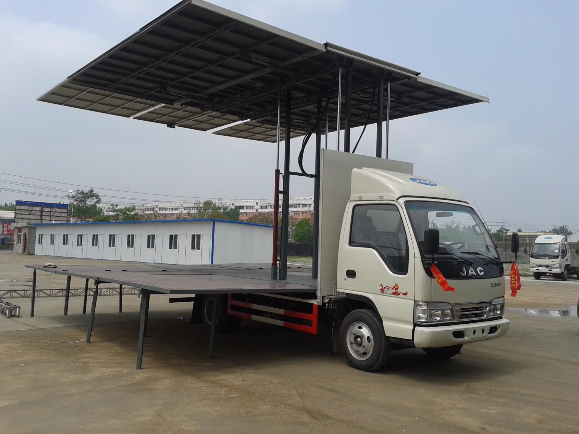 江淮4米舞台车