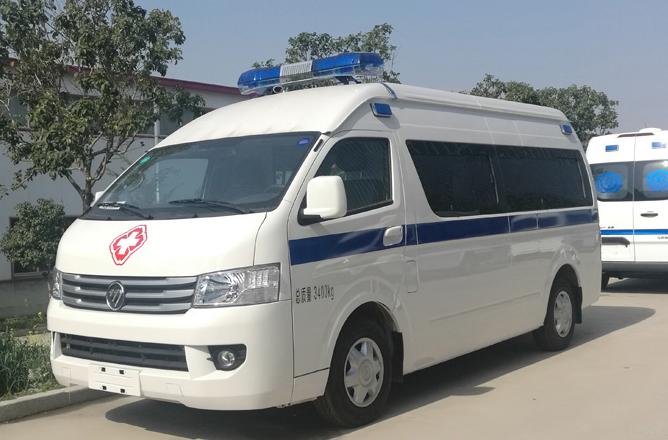 福田救护车福田G9救护车图片
