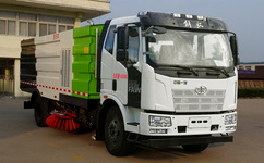 道路洗扫车的主要性能及操作步骤
