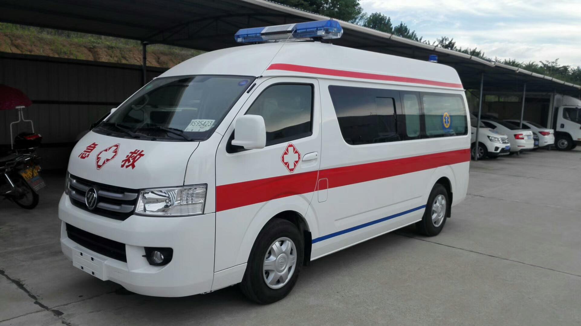 福田G9救护车 汽油版救护车