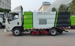 福田欧马可5吨扫路车如何检查转向盘转向力?