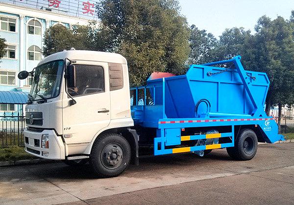 东风小天锦8吨摆臂垃圾车