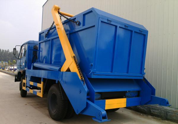 东风153型12吨摆臂式垃圾车