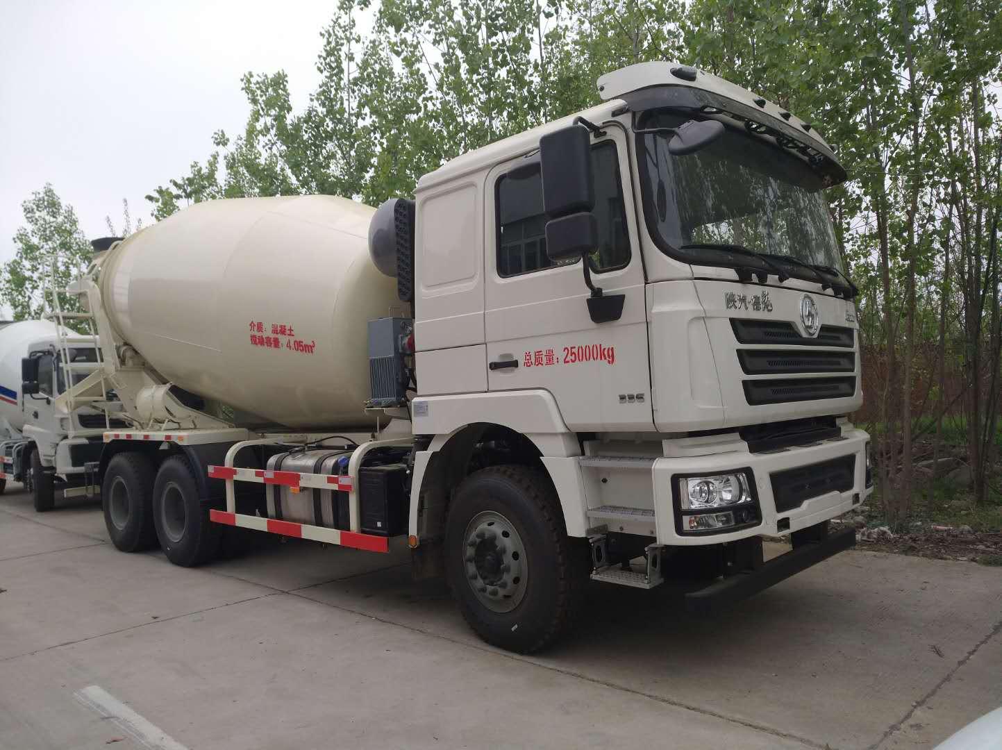 国五陕汽德龙10-15方混凝土搅拌运输车