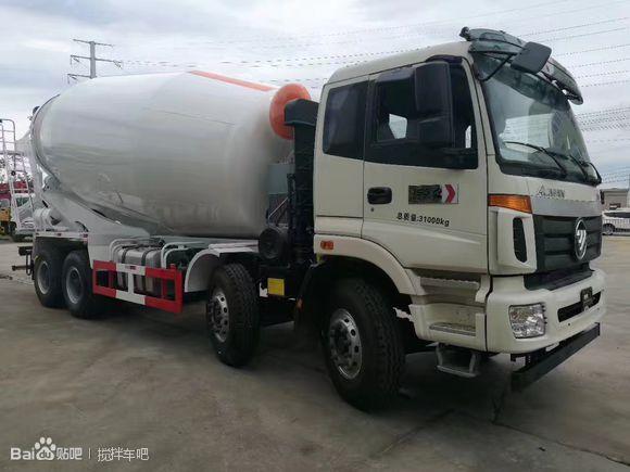 福田欧曼16-20方混凝土搅拌运输车