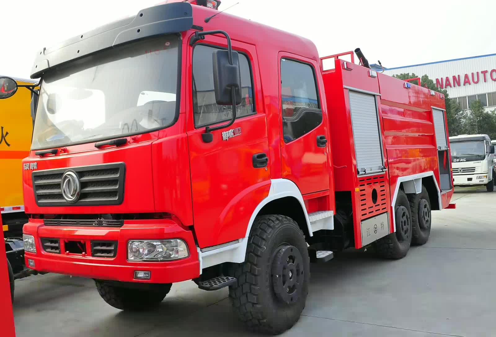 东风御虎VP后双桥消防车视频