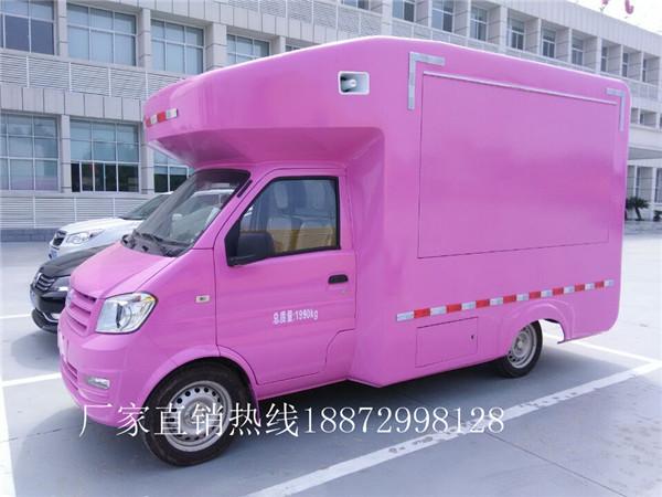 多士星牌JHW5020XSHFJ5型东风小康售货车