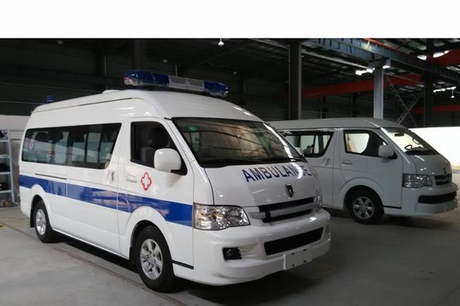 金杯丰田大海狮救护车