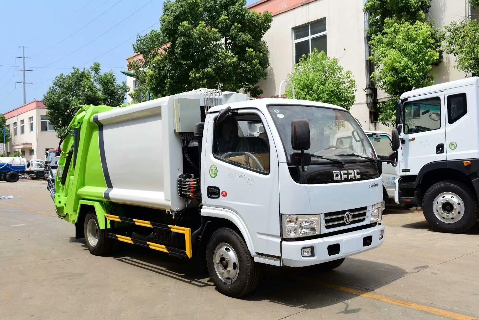 东风多利卡压缩垃圾车图片