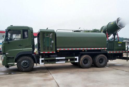 东风天龙60米雾炮车