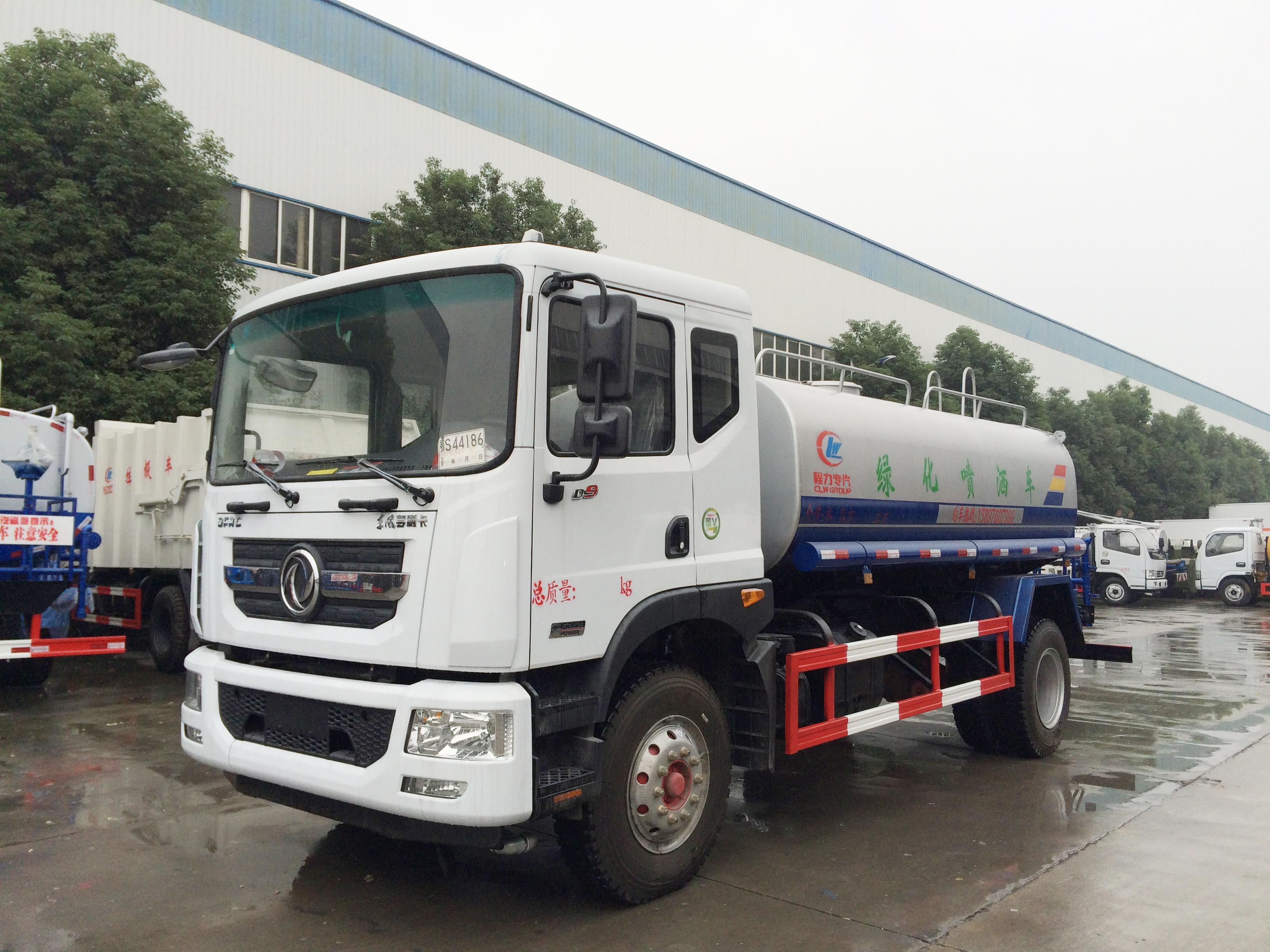 东风D9多利卡12吨14吨绿化喷洒车