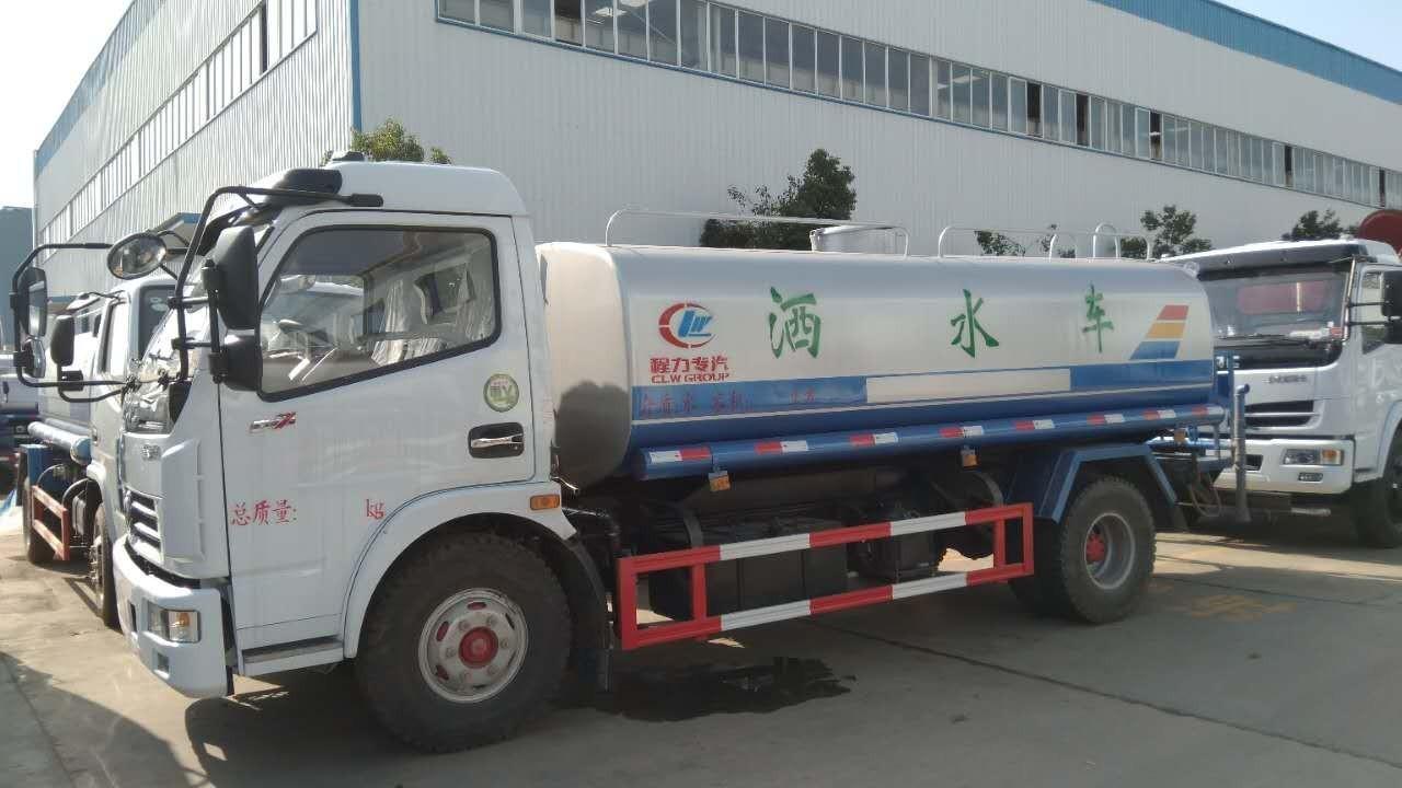 10吨东风多利卡洒水车图片