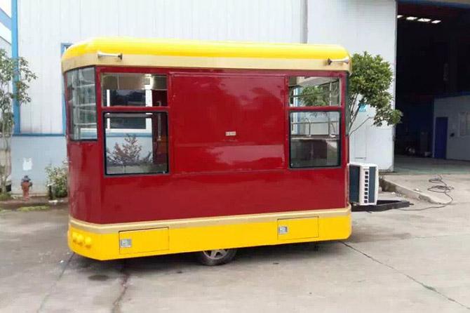 拖掛式餐車圖片