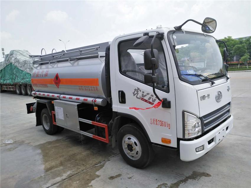 5吨解放虎V加油车