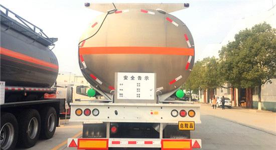鋁合金運油半掛車_高清圖片
