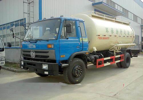 东风16吨粉粒物料运输车图片