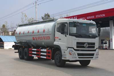 东风天锦30吨粉粒物料运输车图片