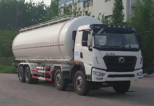 重汽16吨粉粒物料运输车