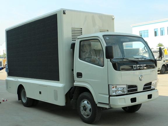 东风led广告宣传车图片